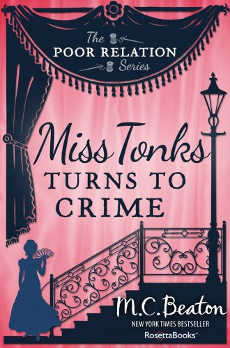 Miss Tonks Turns to Crime Cover