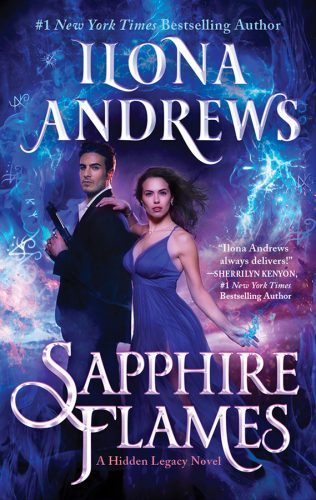 Sapphire Flames Cover