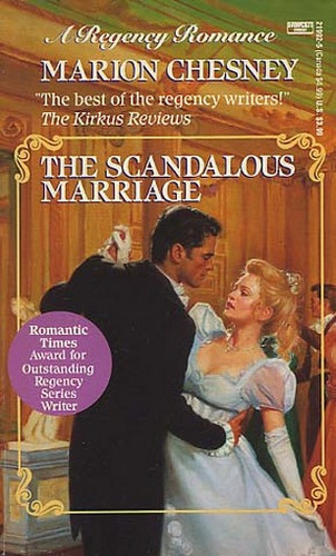 The Scandalous Marriage Cover